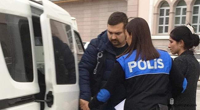 Hırsızlıktan Hapse Mahkum Edilen Kadın Yakalandı