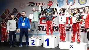 Kahramanmaraş'a Kickboks'tan 2 Madalya