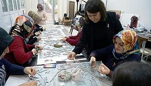 Kahramanmaraş'ta Sanatsal Mozaik Kursu