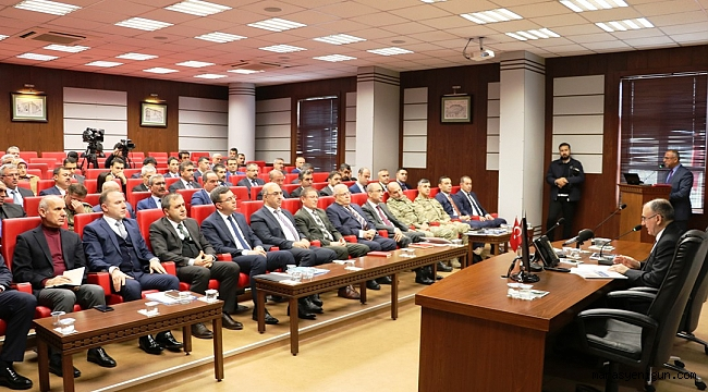 Kahramanmaraş'ta Uyuşturucuyla Mücadele Toplantısı