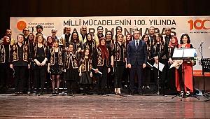 Kurtuluşun 100'üncü Yılı 'Türk Halk Müziği' İle Kutlandı