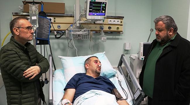 Sağlık Teknikeri Görevi Başındayken Darp Edildi