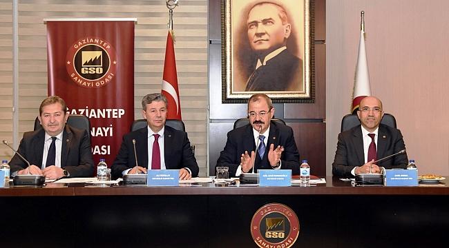 GSO'nun Şubat Ayı Meclis Toplantısı Yapıldı