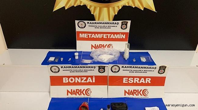 Kahramanmaraş'ta Uyuşturucu Operasyonunda 5 Tutuklama