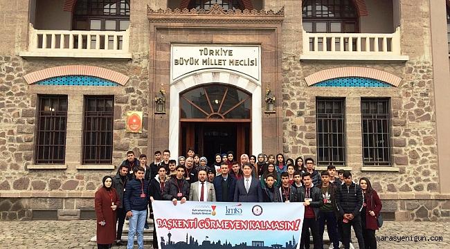 Kahramanmaraşlı Öğrenciler Başkenti Gezdi