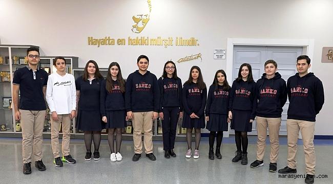 SANKO Okulları'nın Tübitak Başarısı