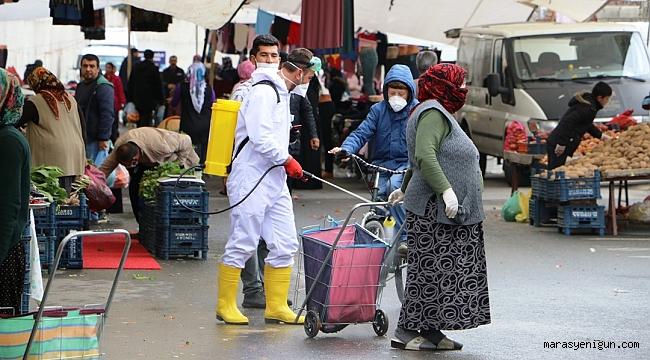Belediyeden Sıra Dışı Virüs Önlemi
