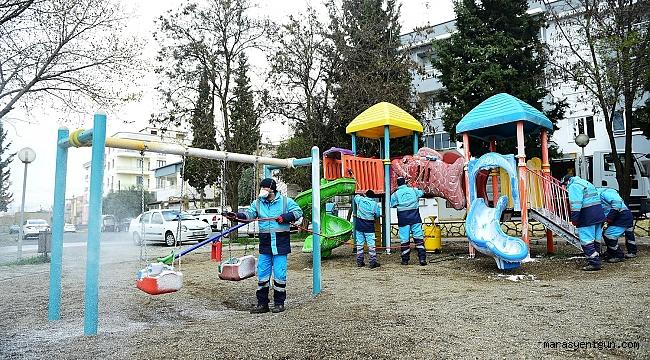 Dulkadiroğlu Baştan Aşağı Dezenfekte Edildi
