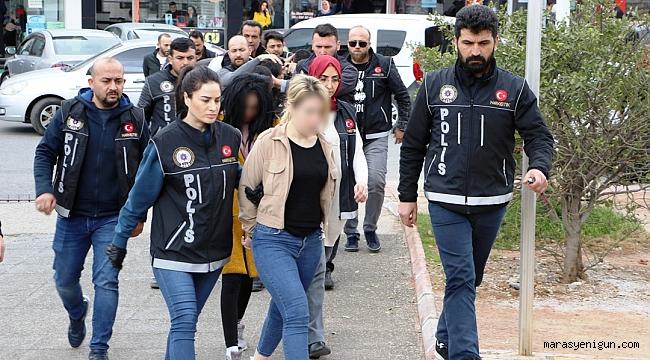 Organize Suç Örgütü Operasyonu: 8 Gözaltı