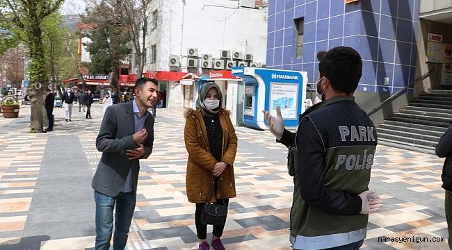 Kahramanmaraş'ta Korona Virüs Tedbirleri