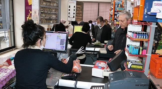 Kahramanmaraş'ta Sanal Market Dönemi