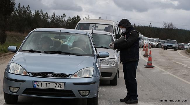Karabük'e 30 Büyükşehir Ve Zonguldak Plakalı Araçlar Alınmayacak