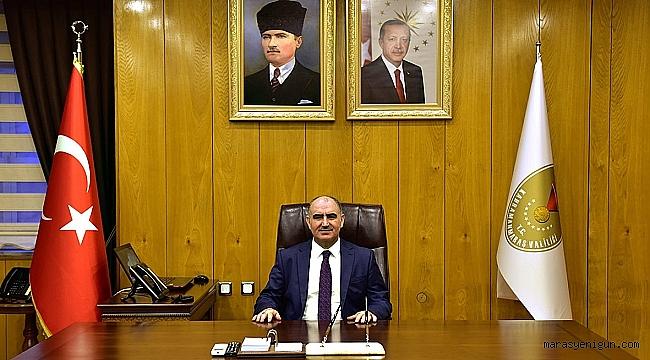 Vali Özkan'ın Kahramanmaraş'a İstiklal Madalyası Verilişi'nin 95. Yıl Dönümü Mesajı