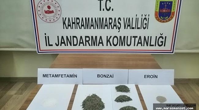 Kahramanmaraş'ta Uyuşturucu Operasyonu: 8 Gözaltı