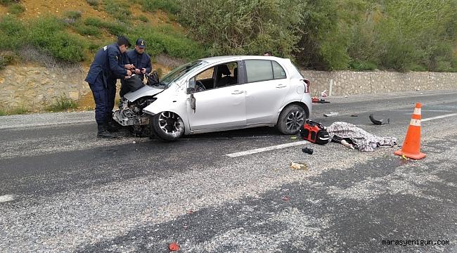 Kayseri-Kahramanmaraş Yolunda Trafik Kazası: 1 Ölü