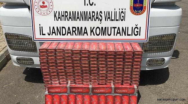 Sigara Kaçakçılarına 51 Bin 100 Lira Para Cezası