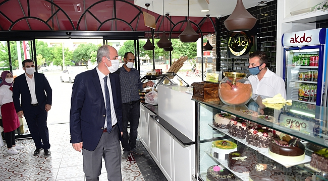 Başkan Okay'dan Esnaf Ziyareti