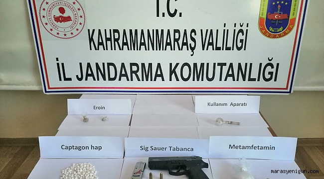 Kahramanmaraş'ta Uyuşturucu Operasyonunda 3 Tutuklama
