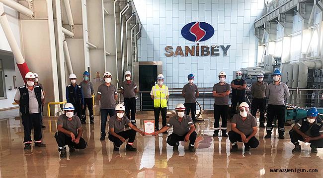 Sanibey Barajı, Sektöründe Bu Belgeyi Alan İlk İşletme Oldu