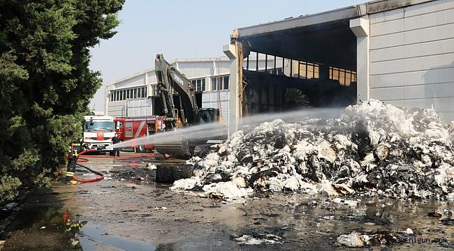 Yangın Sonrası Hasar Tespit Çalışmaları Başlatıldı
