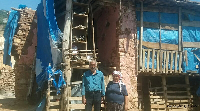 Aksu Ailesi Harabeye Dönen Evlerinin Yapılmasını İstiyor