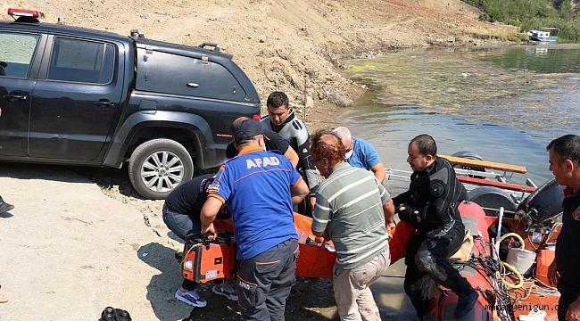 Baraj Gölünden Kurtarılan Genç Hastanede Hayatını Kaybetti