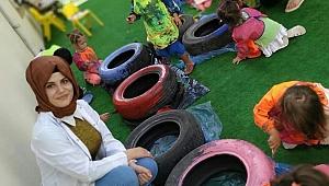 Çocuklar Sanat Aktiviteleriyle Sosyalleşiyor