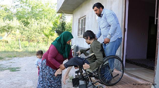 Engelli Burak İş Bulup Evlenmek İstiyor