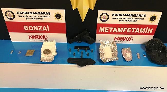 Kahramanmaraş'taki Uyuşturucu Operasyonunda 8 Tutuklama