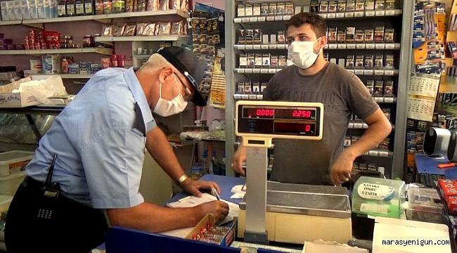 Onikişubat Belediyesi Zabıta Ekipleri Marketleri Denetledi