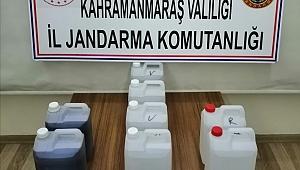 Pazarcık'ta Kaçak İçki Operasyonu