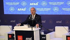 """İçişleri Bakanı Soylu: """"2020 Yılında Afetlerde 228 Vatandaşımız Hayatını Kaybetti"""