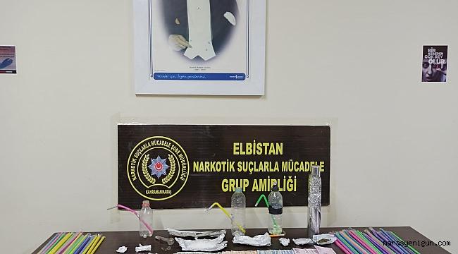 Kahramanmaraş'ta Uyuşturucu Operasyonunda 2 Kişi Tutuklandı