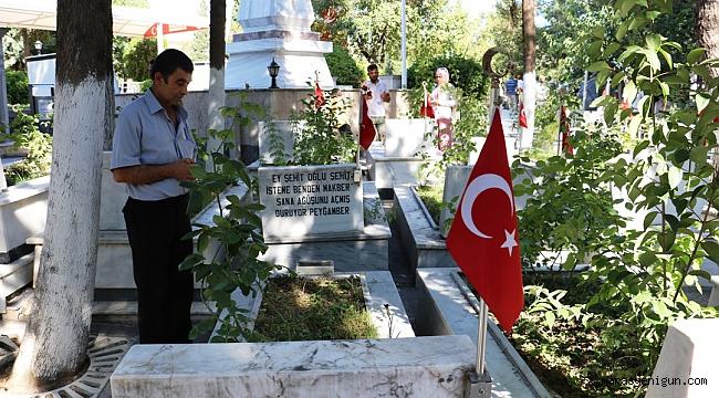 Kahramanmaraş'ta Vatandaşların Mezarlık Ziyareti