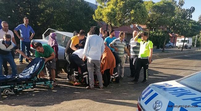 Otomobil İle Hafif Ticari Araç Çarpıştı: 6 Yaralı