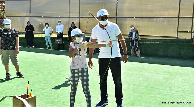 Şehit Çocukları Türkoğlu'nda Çifte Bayram Yaşadı