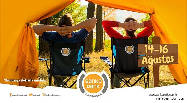 Yaz Hediyesi Kamp Sandalyeniz Sanko Park'tan