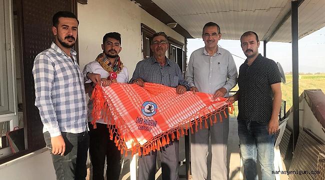 Cerit Türkmenlerinden Baba Halisdemir'e