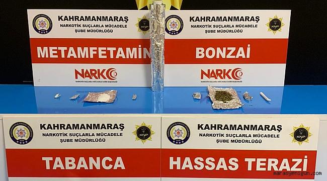 Kahramanmaraş'ta Uyuşturucu Operasyonuna 5 Tutuklama