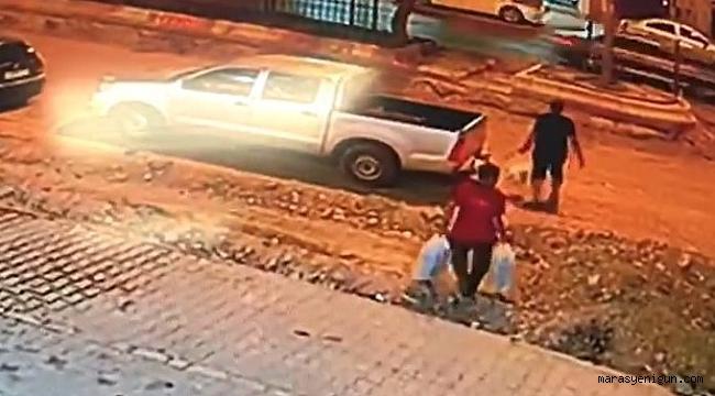 Polis Memurunun Hayatını Kaybettiği Kaza Kamerada