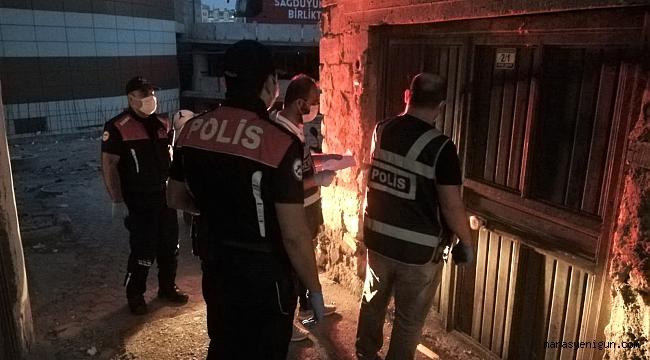 Kahramanmaraş'ta Aranan 62 Kişiyi Yakaladı