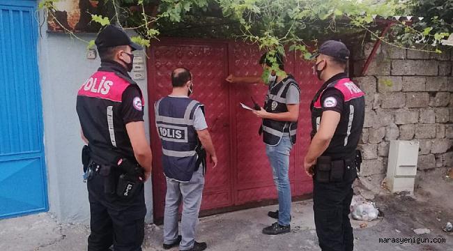 Kahramanmaraş'ta PKK Üyesi Saklandığı Evde Yakalandı