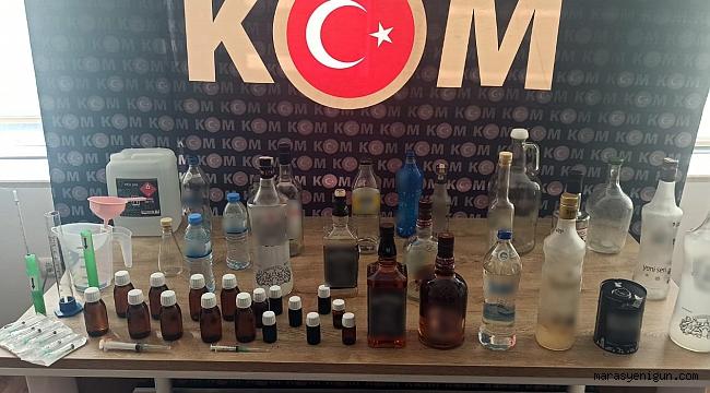 Kör Eden Sahte Alkol Üretim Yerine Baskın