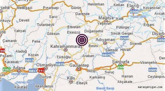 Nurhak'ta Korkutan Deprem