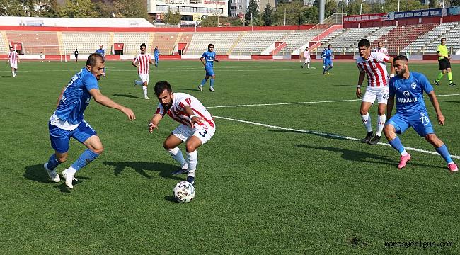 2. Lig: Kahramanmaraşspor: 0 - Sarıyer: 0