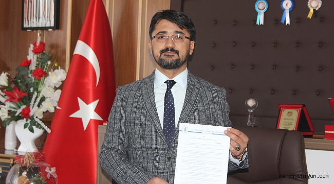 Afşin Esnaf Odası Başkanından Cumhurbaşkanı Erdoğan'a Açık Mektup!