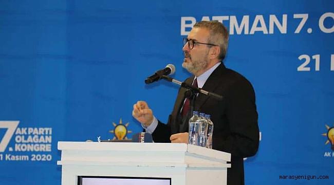 """AK Partili Ünal, """"Devlette İlgili Kararları Verecek Olan Milletin Seçtikleridir"""""""