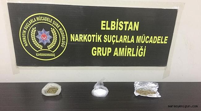 Uyuşturucuyla Yakalanan 1'i Kadın 2 Şüpheli Tutuklandı