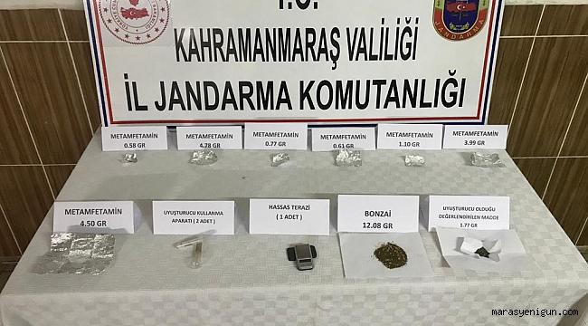 Göksun'da Uyuşturucu Operasyonu: 2 Gözaltı