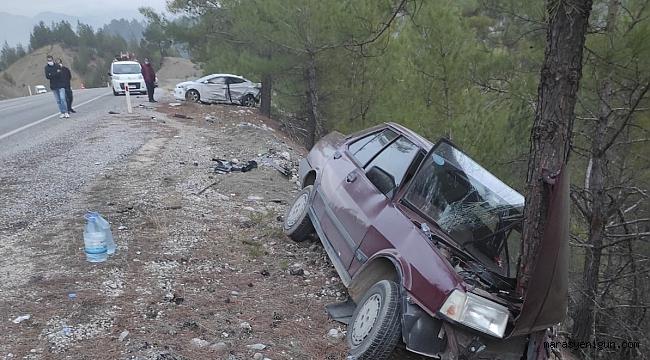 Kahramanmaraş'ta Trafik Kazası: 5 Yaralı